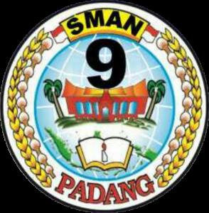 Logo SMA 9 Padang Berwarna